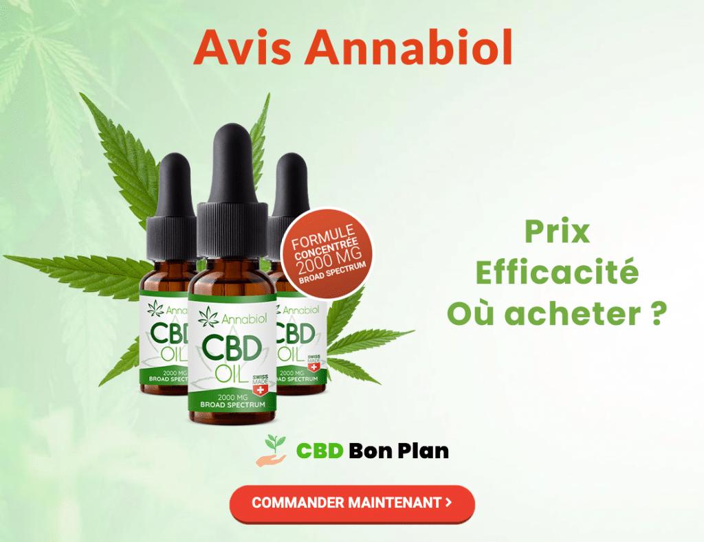 Avis Annabiol CBD Oil