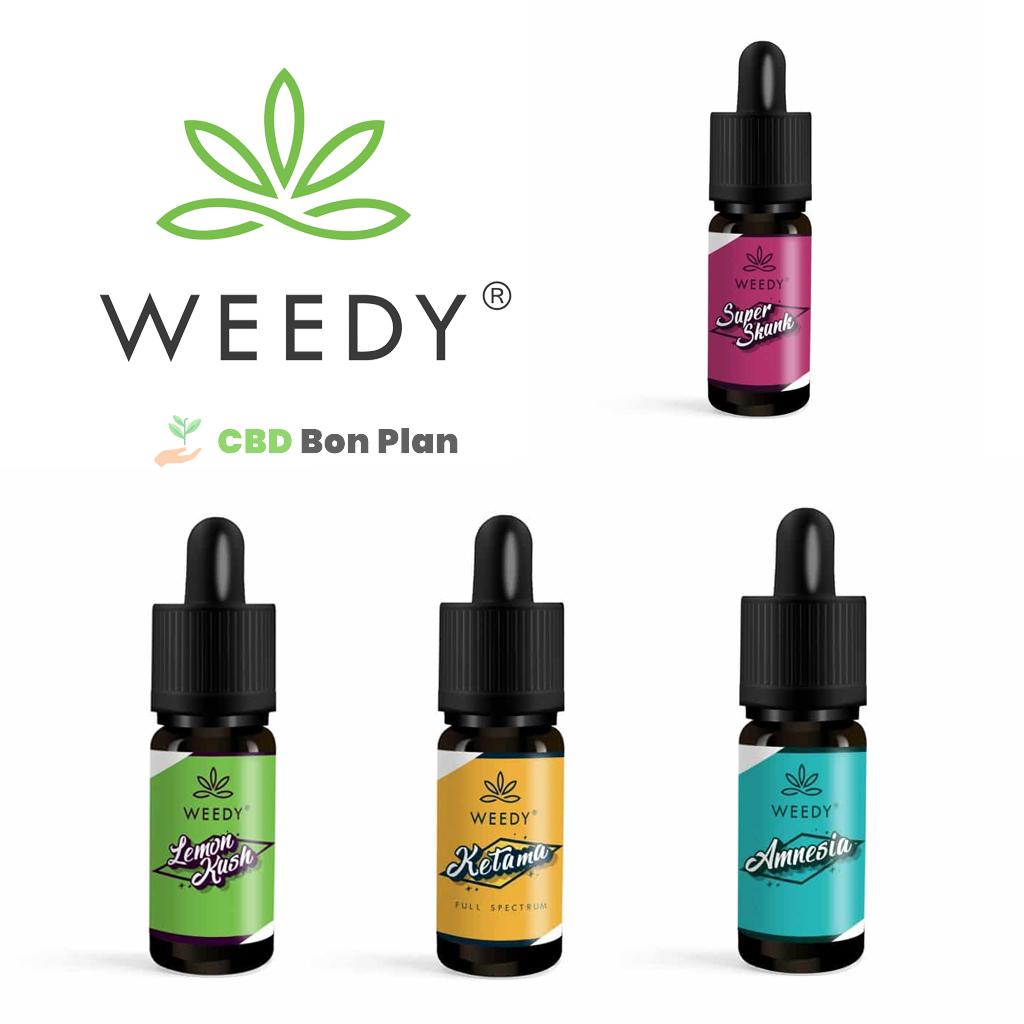 e-liquide CBD Weedy