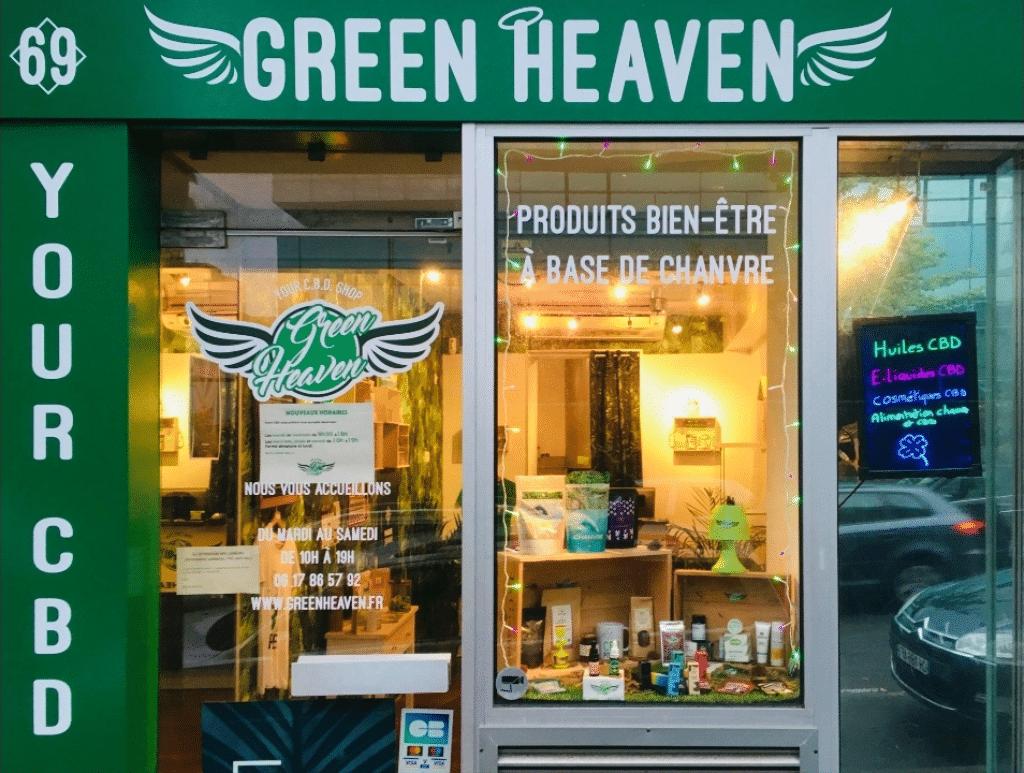 Green Heaven : boutique de CBD à Bordeaux