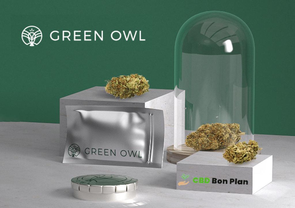 Produits à base de CBD de la marque Green Owl