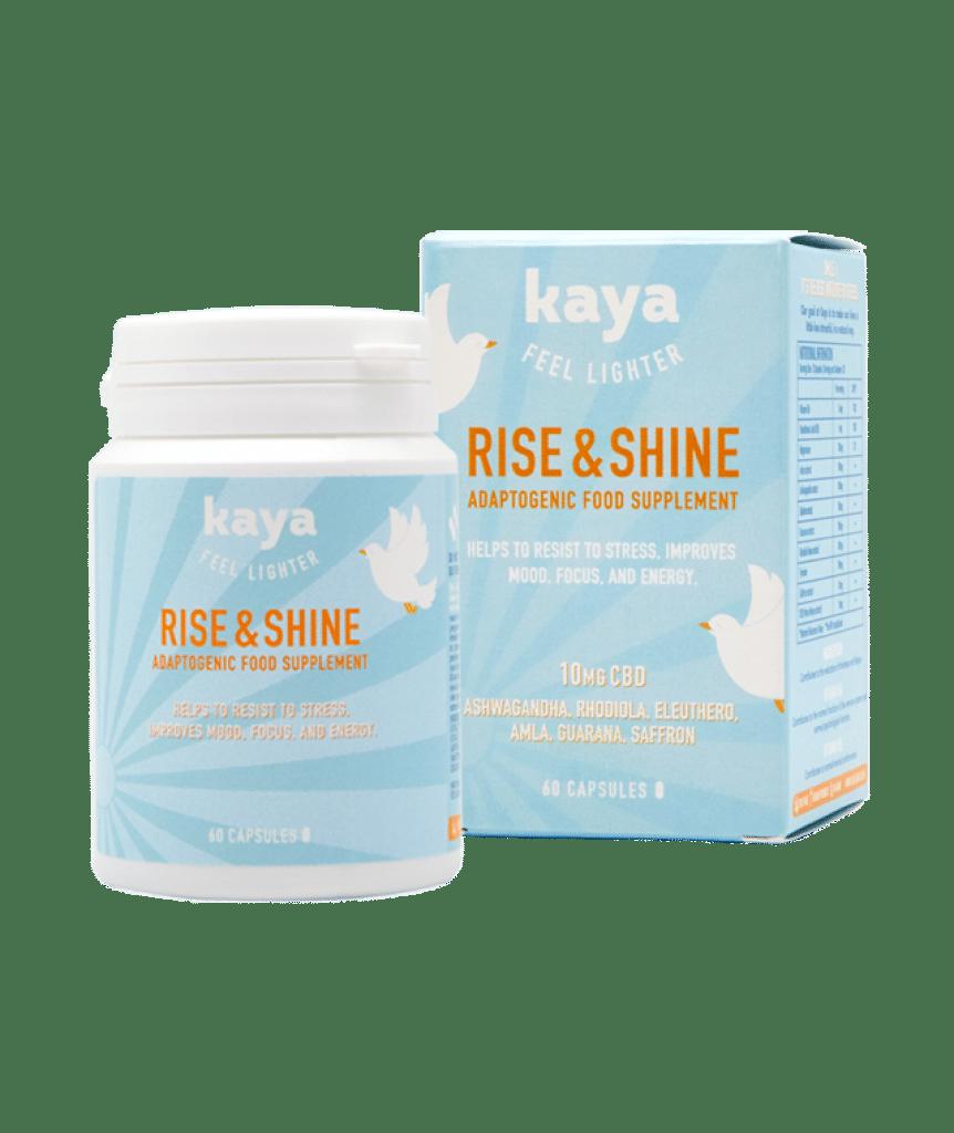 Gélules de CBD anti-stress de la marque Kaya