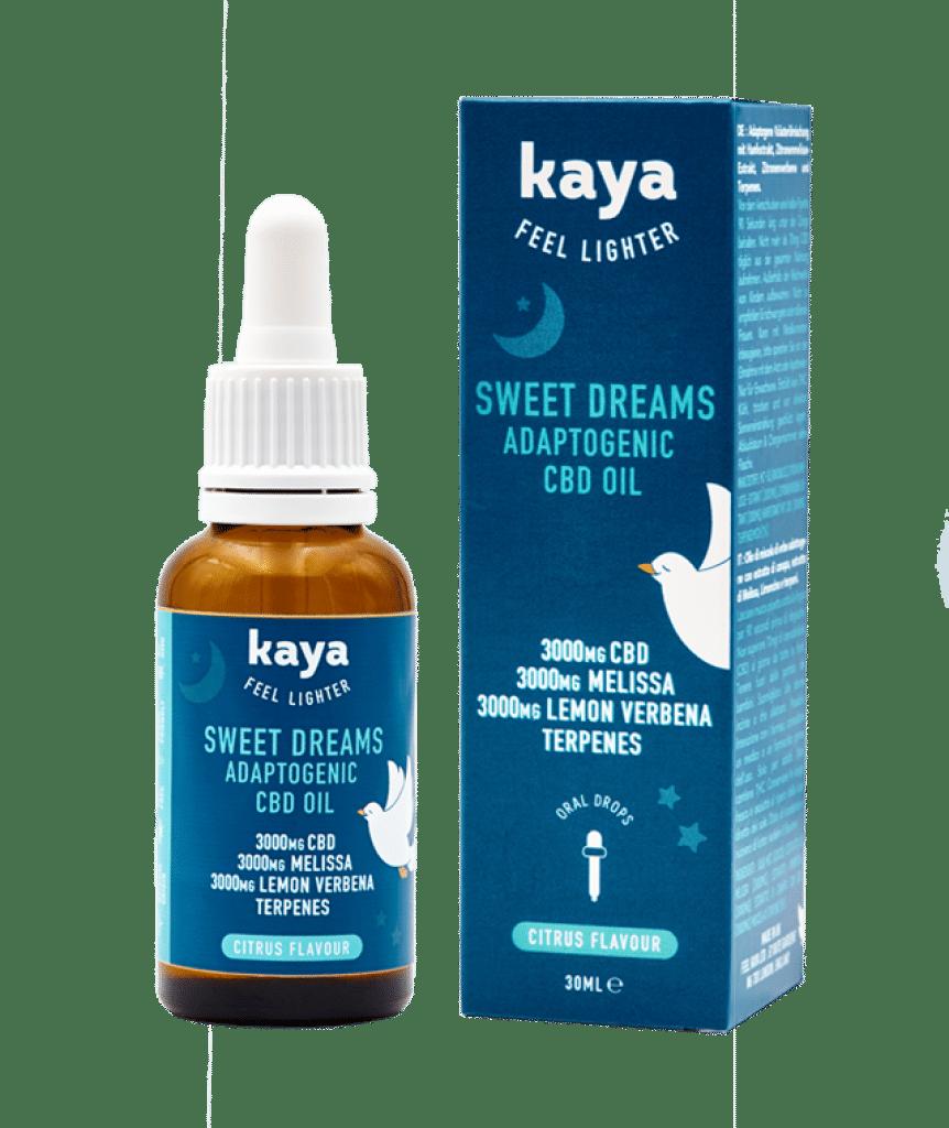 Huile de CBD Kaya pour le sommeil