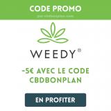 Avis sur Weedy : les meilleures variétés de CBD à petit prix